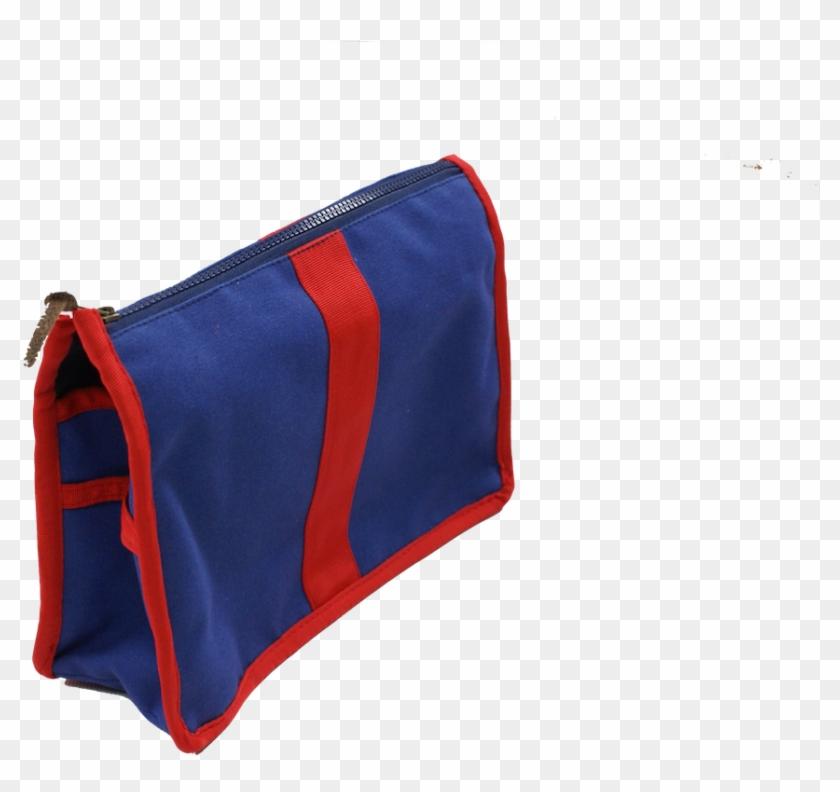 Wash Bag Medium Blue Red - Messenger Bag #834073