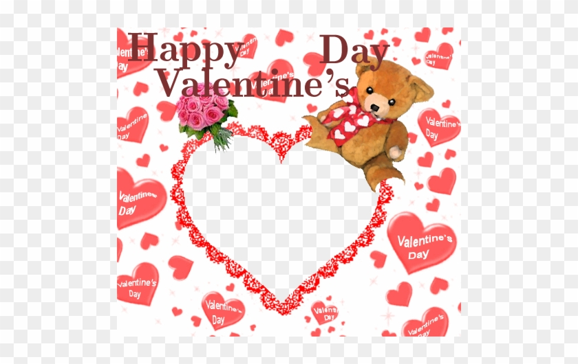 Happy Valentine's Day Teddy Bear - Happy Valentine's Day Teddy Bear #834661