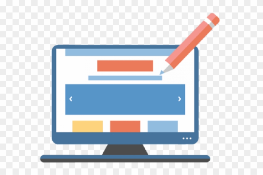 Web Development Clipart Transparent - Web Design Vector Png #834665
