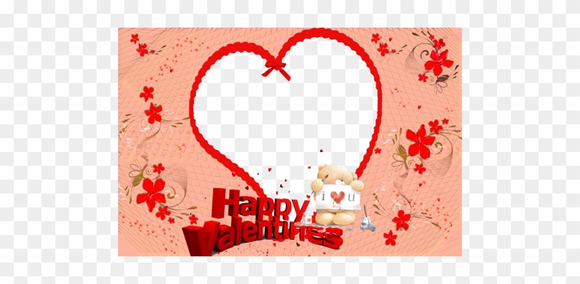 I Love You And Happy Valentine S Day Frame Transparent Happy