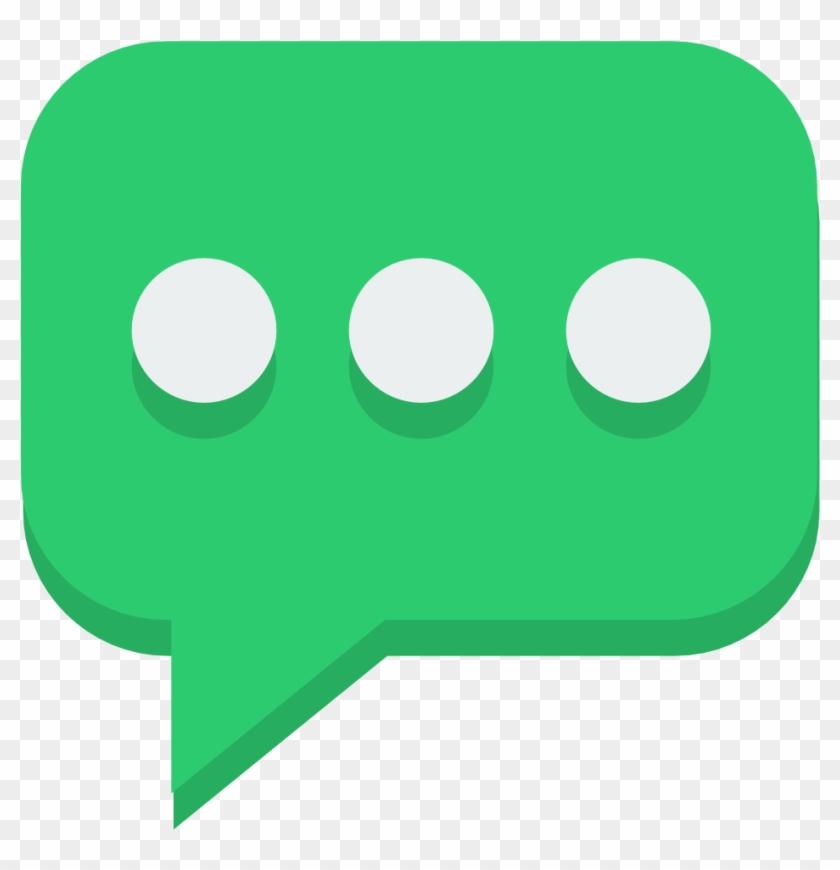 Bubbles Icons - Flat Speech Bubble Icon #834807