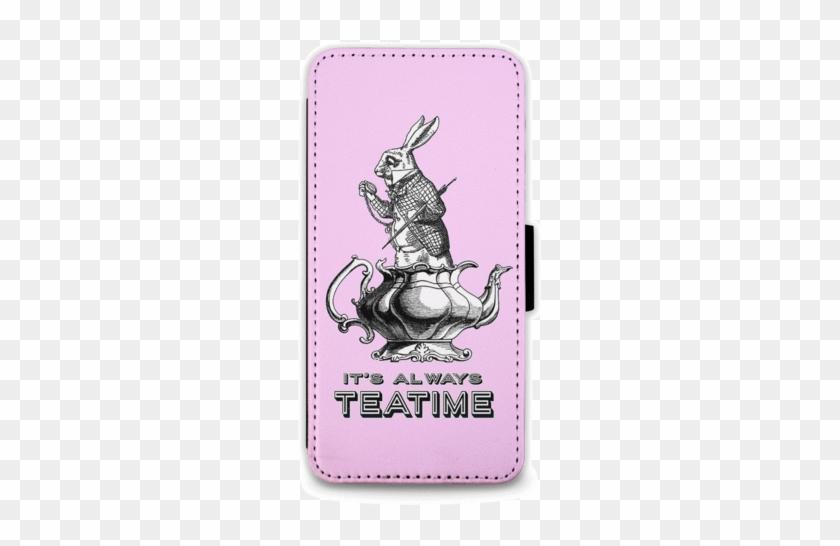 It's Always Teatime - Alice In Wonderland White Rabbit #834919
