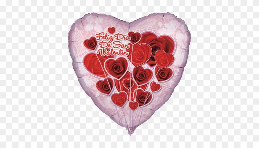 "Valentine's Day Mylar Balloons Come In All Styles - 18"" Feliz Dia De San Valentin - Mylar Balloons Foil #835102"