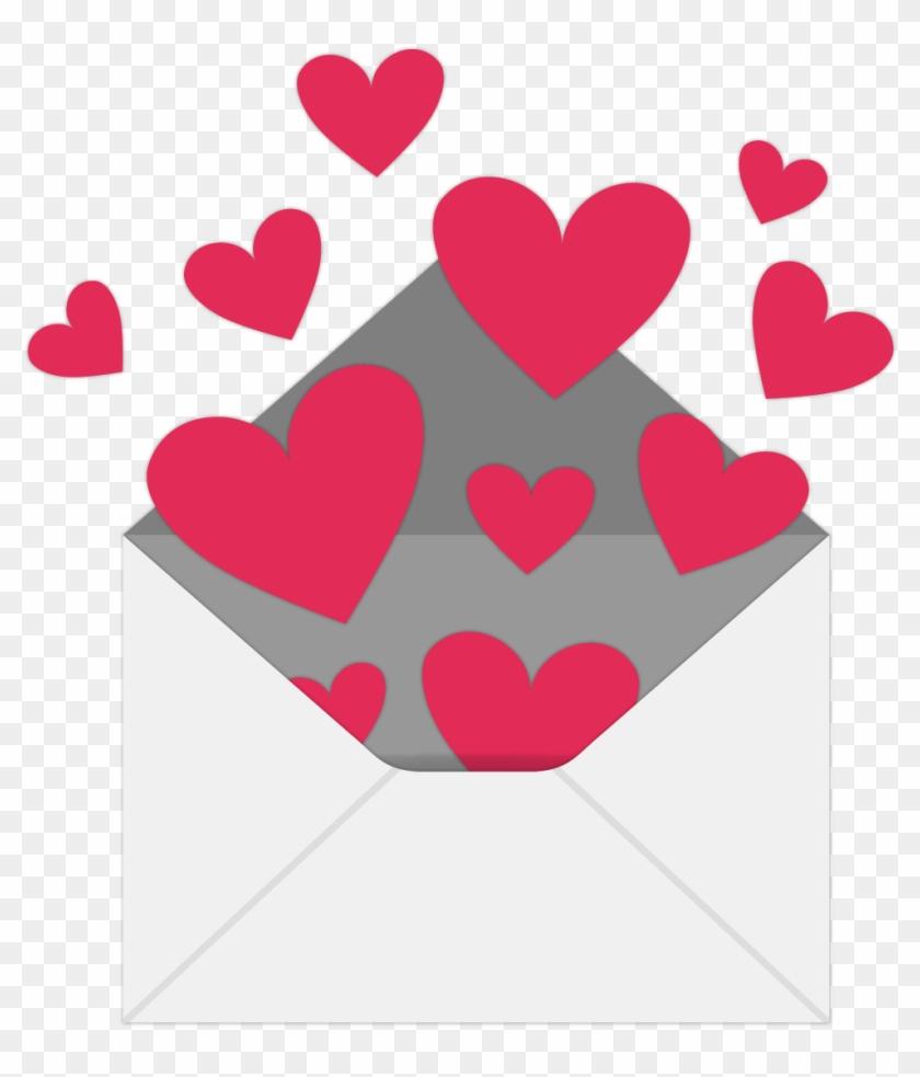 envelope valentines day heart love letter - envelope - free