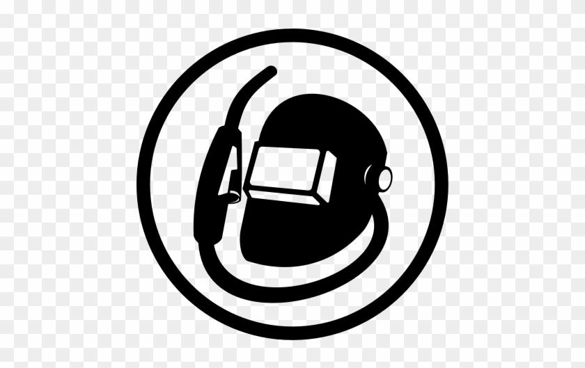 Welder Icon Welding Helmet Vector Free Transparent Png Clipart Images Download
