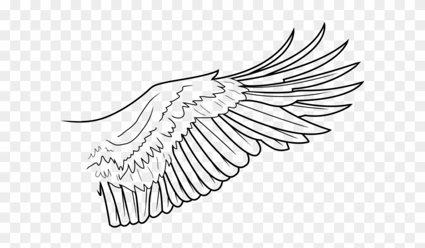 Simple Wing Lines By Freakzter Freebies On Deviantart - Eagle Wings ...