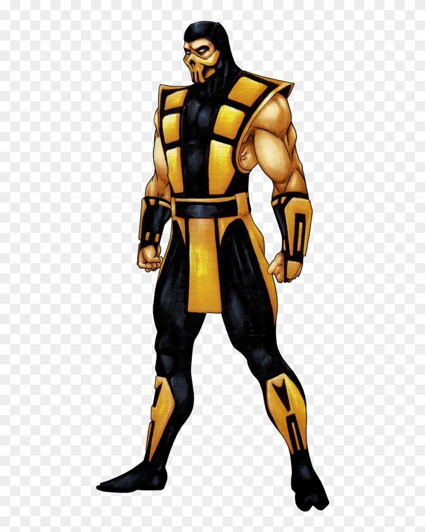 Scorpion Clipart Mortal Kombat Ultimate Mortal Kombat 3 Scorpion
