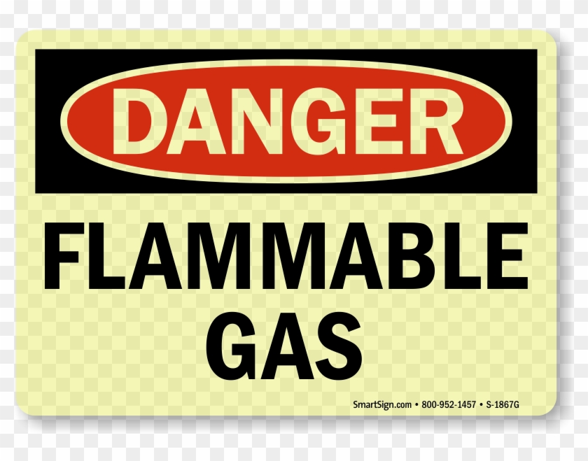 Zoom, Price, Buy - Mysafetysign Flammable Gas Adhesive Signs And Labels #836085