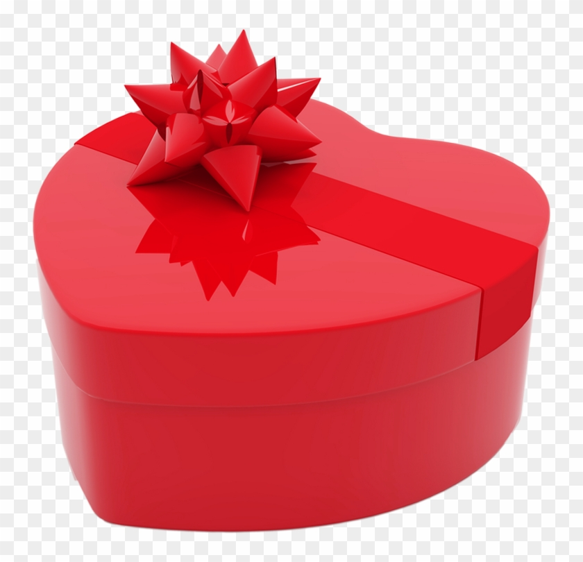 Valentines Day Heart Gift Box Png Clipart Pictureu200b - Heart Shape Heart Shaped Box #837182