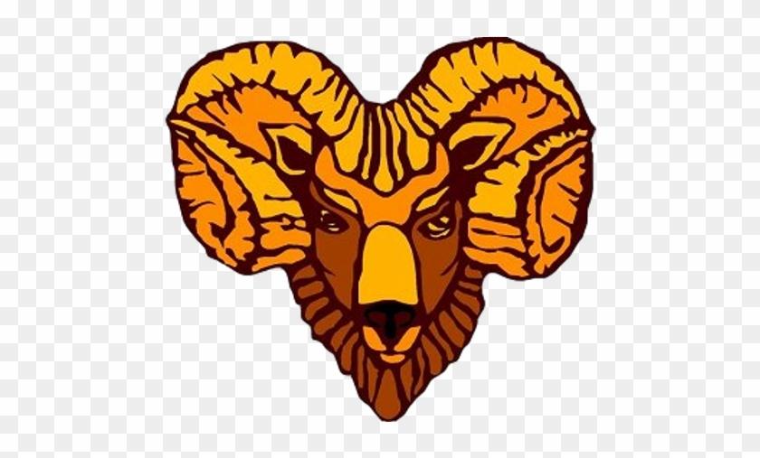 School Logo Image - Highlands Golden Rams Logo #837232