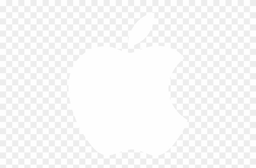 Apple,logo,white,512x512 Icon - Apple Icon Png White - Free