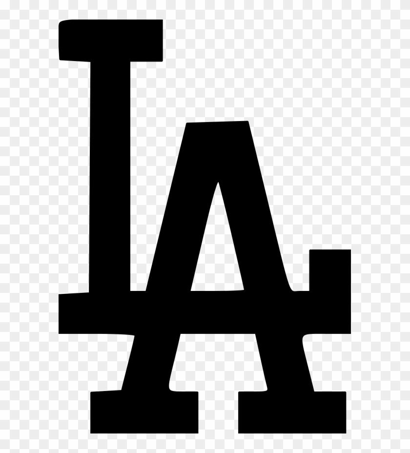 La Dodgers Logo File Size Los Angeles Dodgers Logo Black Free