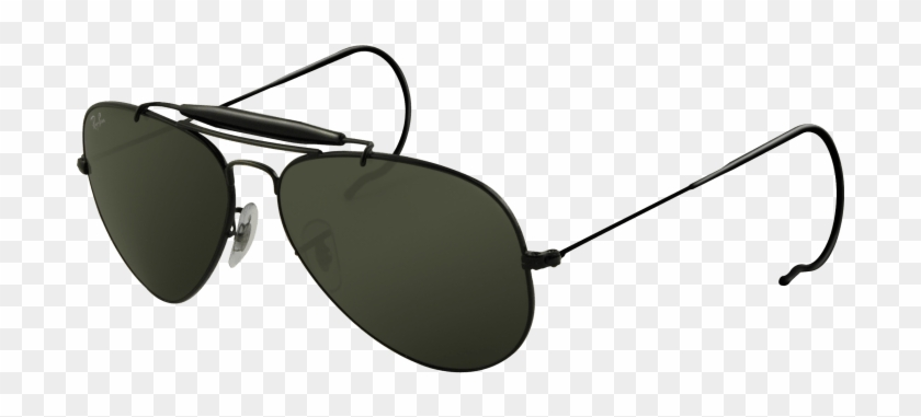 ca9a054e98 Outdoors Man Cliparts - Ray-ban Rb 3030-l9500 Outdoorsman Sunglasses Black   839159