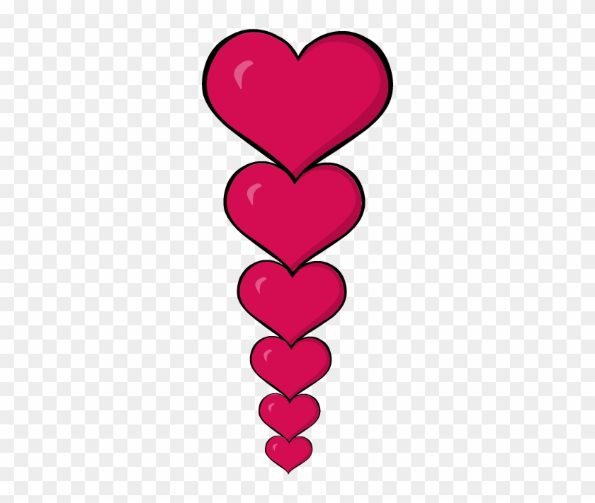 Valentines Day Hearts Clipart Transparent Valentine Border Clip