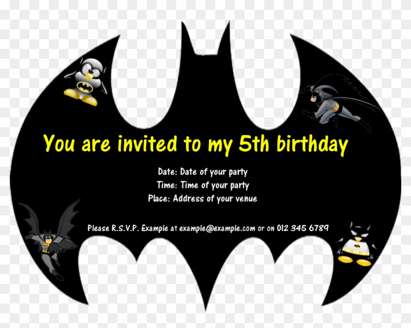 Card Batman Birthday Card Template Birthday Card Batman Birthday