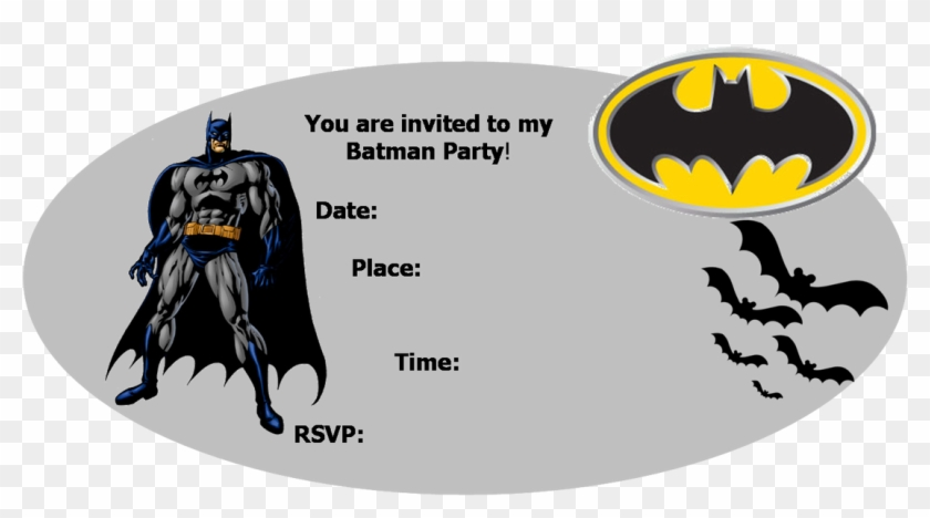 Batman Birthday Invitations With Chic