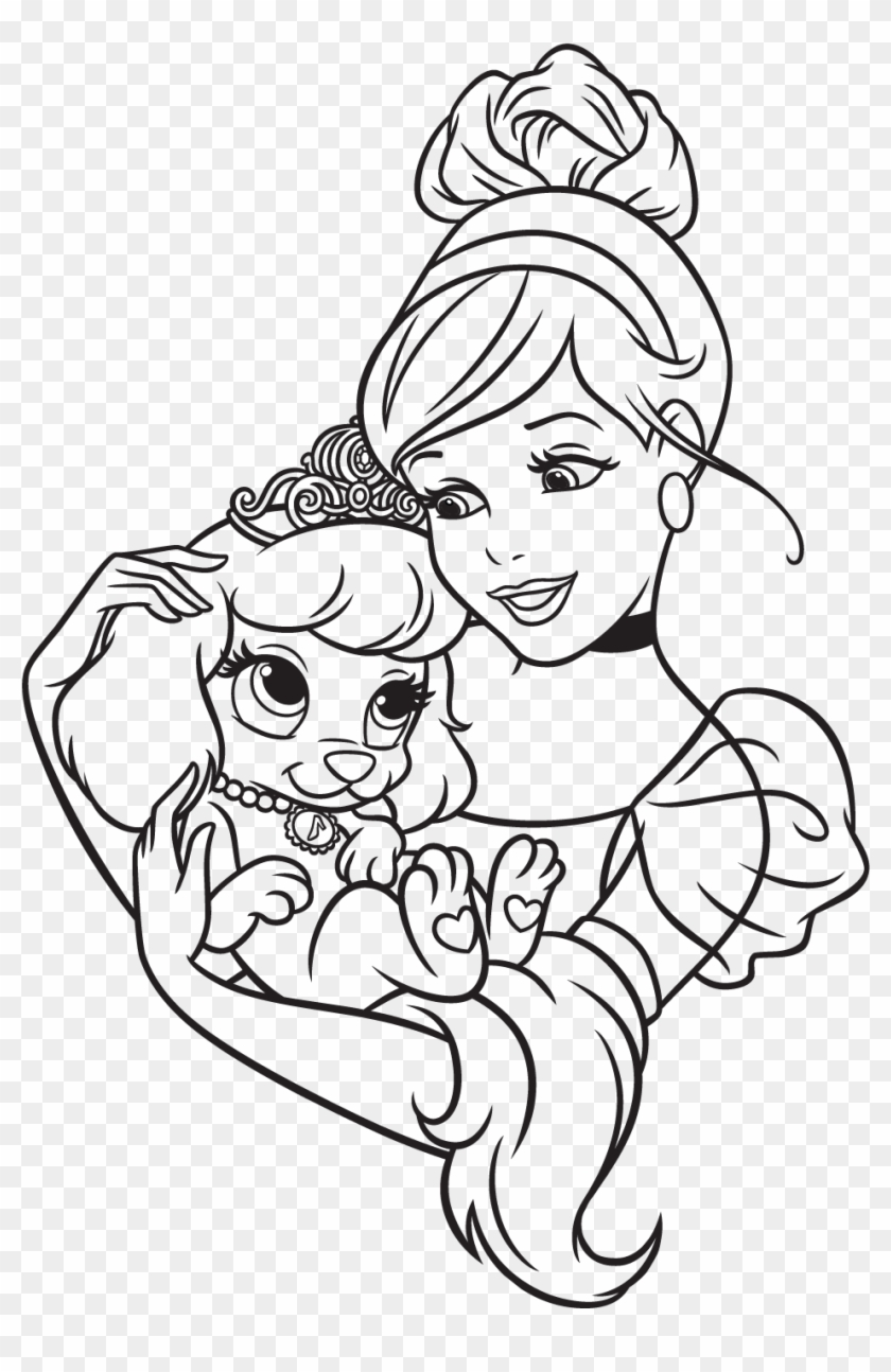 96 Free Palace Pets Coloring Pages - Palace Pets Coloring Pages ...