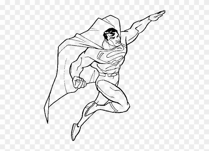 Turn Into Superman Coloring Pages - Dessin De Superman À Imprimer ...