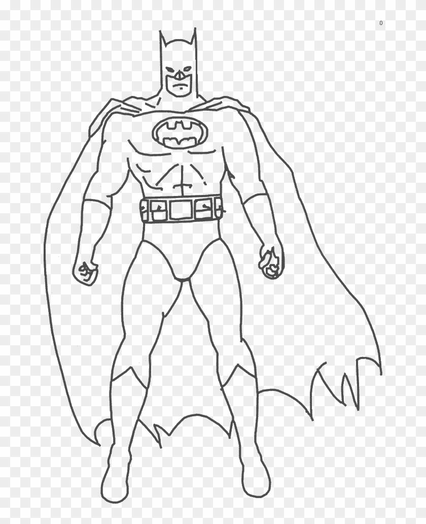 Batman Spiderman And Superman Coloring Pages Batman Cartoon