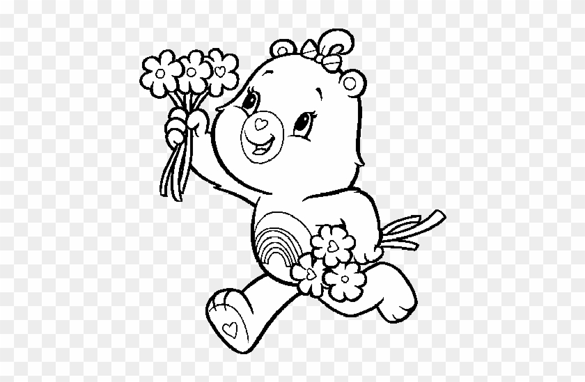 Fancy Design Care Bears Printable Coloring Pages Baby Care Bear