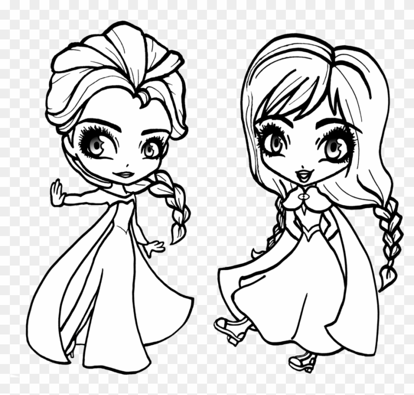- Bargain Elsa Coloring Pages 7 At Coloring Pages With - Baby Frozen Coloring  Pages - Free Transparent PNG Clipart Images Download