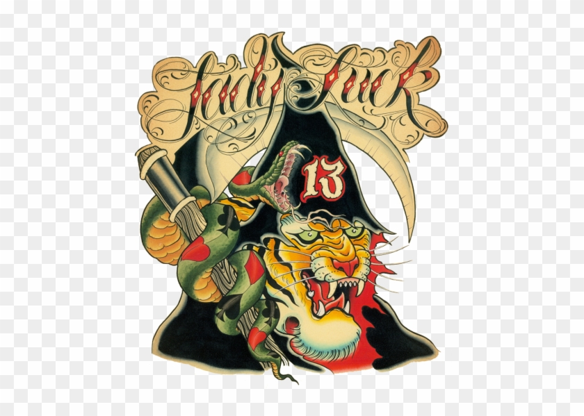 13th Annual Lady Luck Tattoo & Arts Expo - Lady Luck That Bring Happy Good Fortune #840766