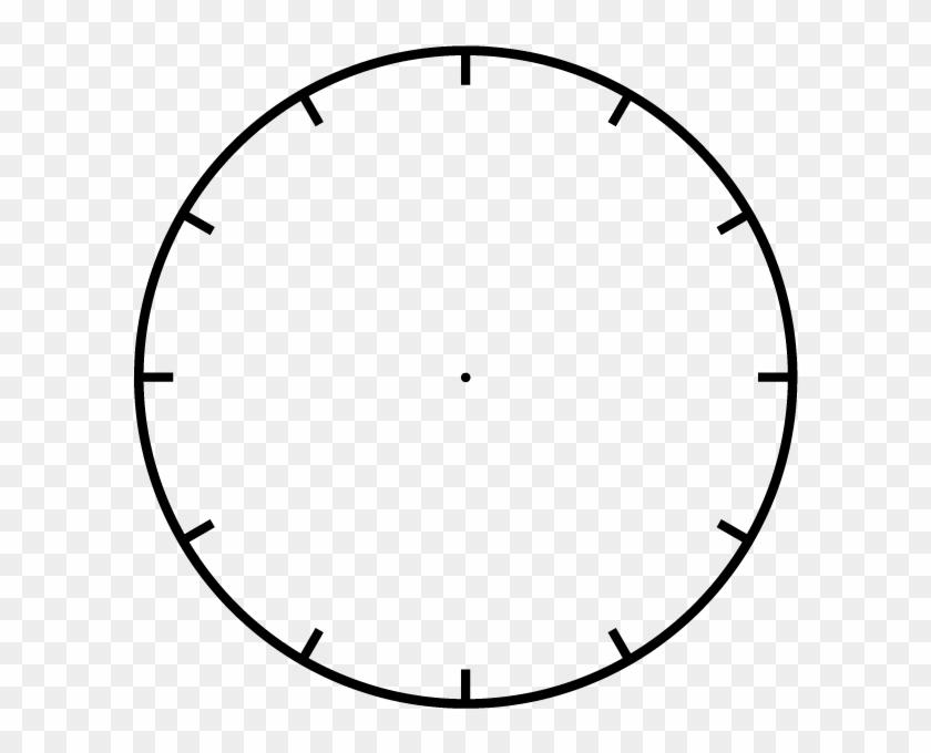 Squares Clipart Blank Clock - Clock Face - Free Transparent