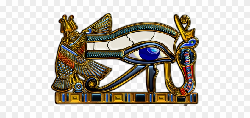 I Was Always Fascinated With Mysteries Of Ancient Egypt, - Eye Of Horus 3d #841839