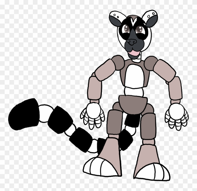 Ring-tailed Lemur Animatronic By Faithleafcat - Lemur Animatronic #841913