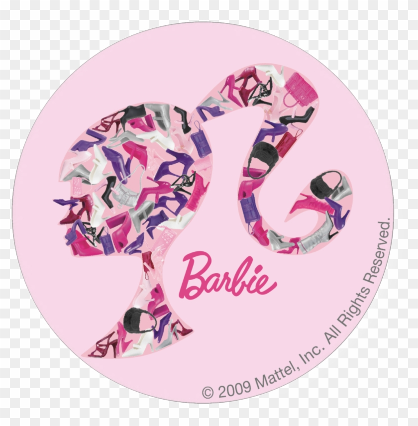 Americas Original Doll Is Still Rockin At Barbie Head Logo Png