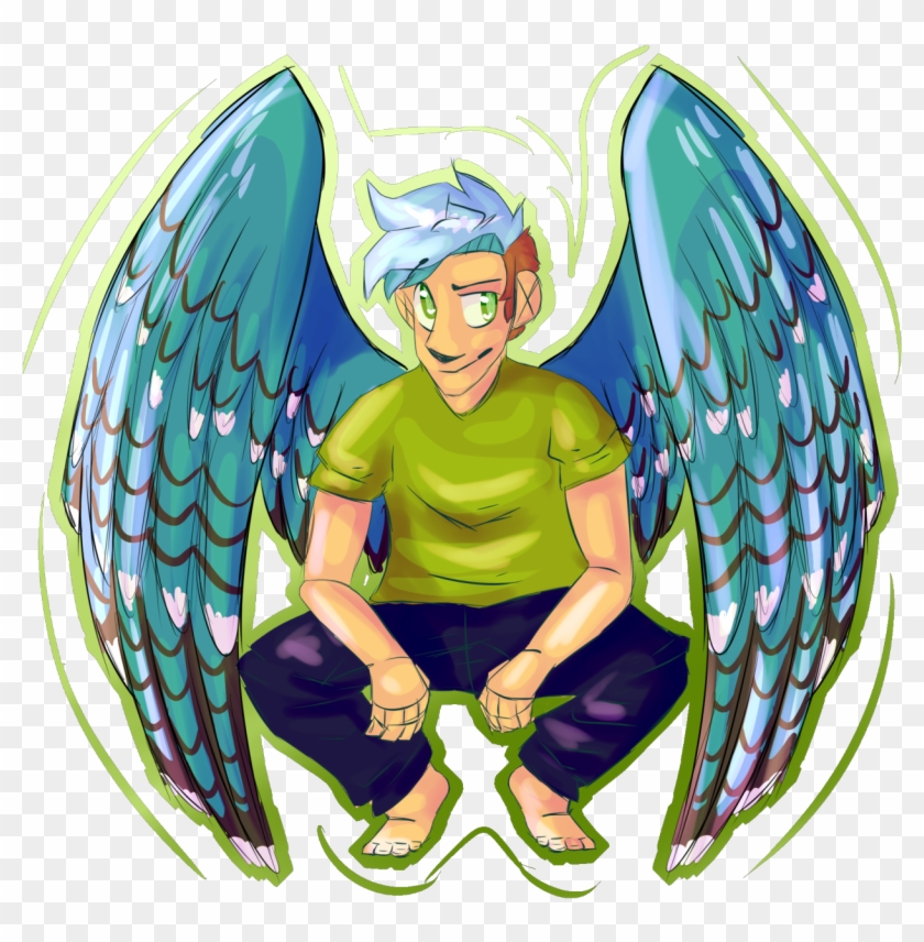 Kuniart Angel Ethan Crankgameplays Ethan Nestor Fanart - Cartoon