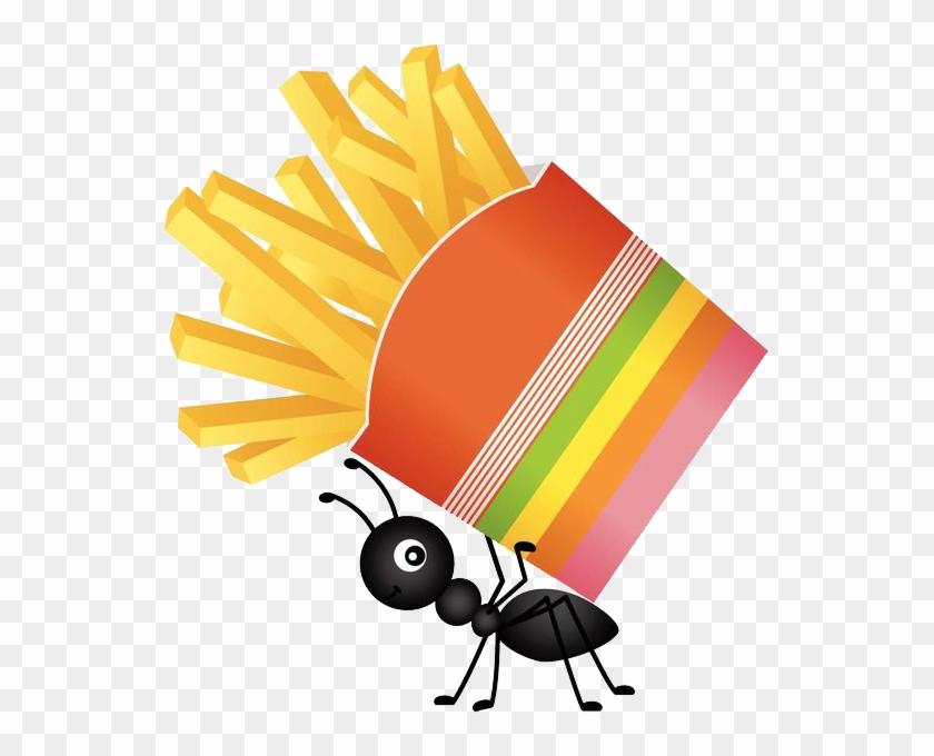 Ant Food Clip Art - Clip Art Ants Food #843275