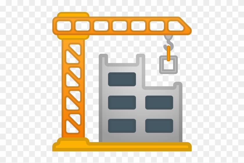 42480 Building Construction Icon - Building Construction Icon #843341