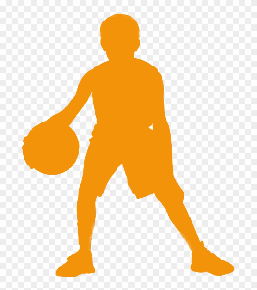 3rd/4th Grade 5th/6th Grade - Young Basketball Player Silhouette #843738