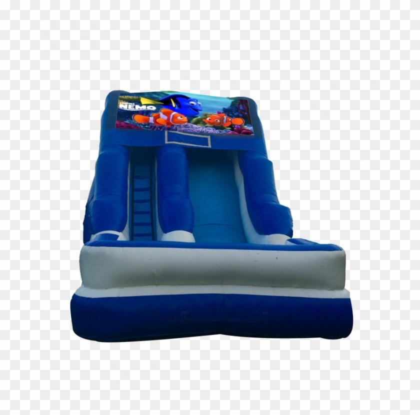 Finding Nemo 16'wet Or Dry Slide - Pj Mask Bounce House #844183