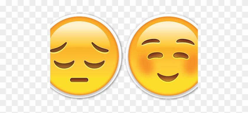 Sad Happy Emoji - Sad And Happy Emoji #844822