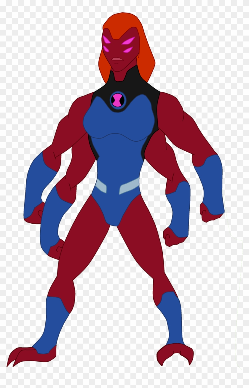Quatra By Thewalrusclown Gwen Fourarms - Ben 10 Omniverse Gwen 10 Four Arms #844862