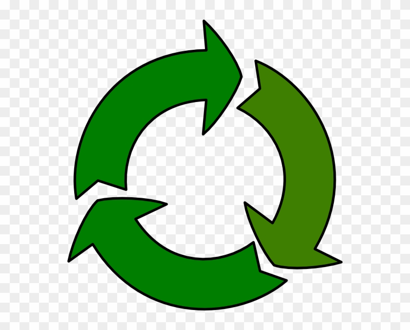 Recycle Clip Art At Clker - Poster Of Recycling For Kids #844961