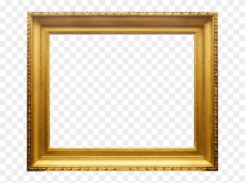 Classy Gold - Transparent Gold Picture Frames #845439