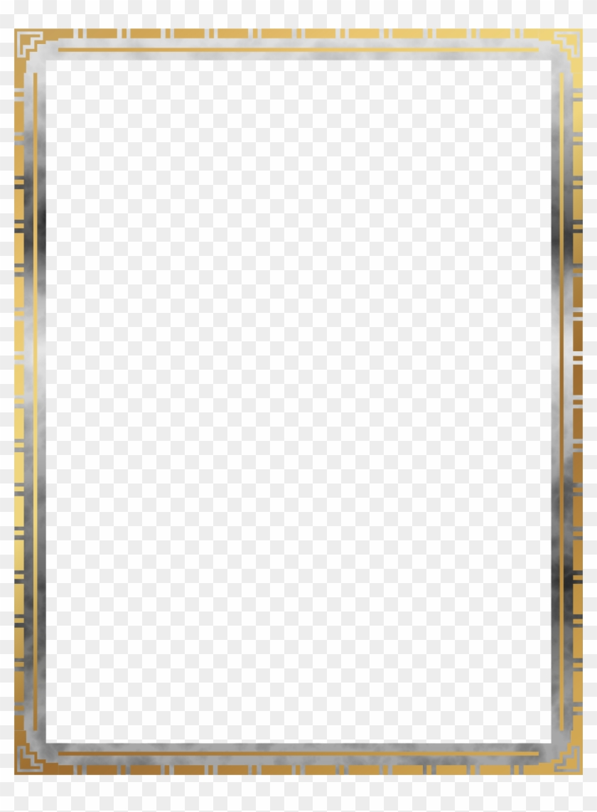 This Free Icons Png Design Of Art Deco Border 3 Pokemon Card Border Png Free Transparent Png Clipart Images Download