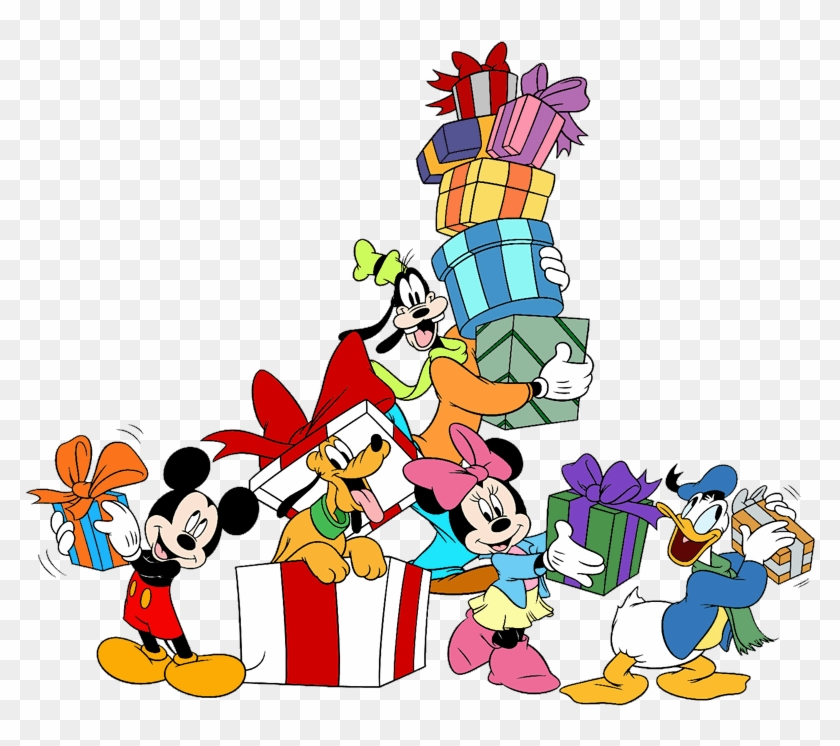 Minnie, Goofy, Donald, - Mickey And Friends Christmas - Free ...
