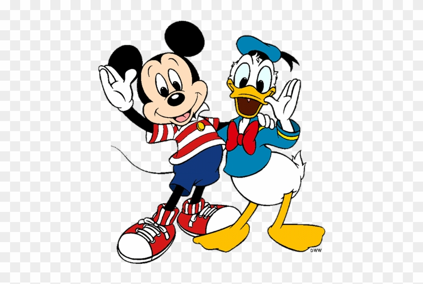 disney clipart mickey mouse and friend mickey mouse and donald
