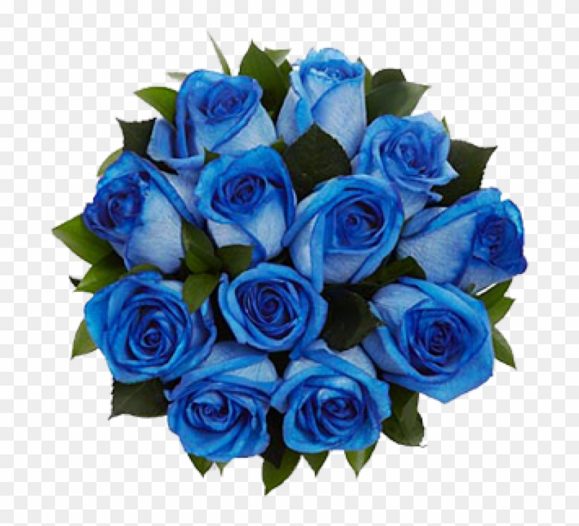 Mob Rec Bunch Of Blue Rose Flowers Free Transparent Png Clipart