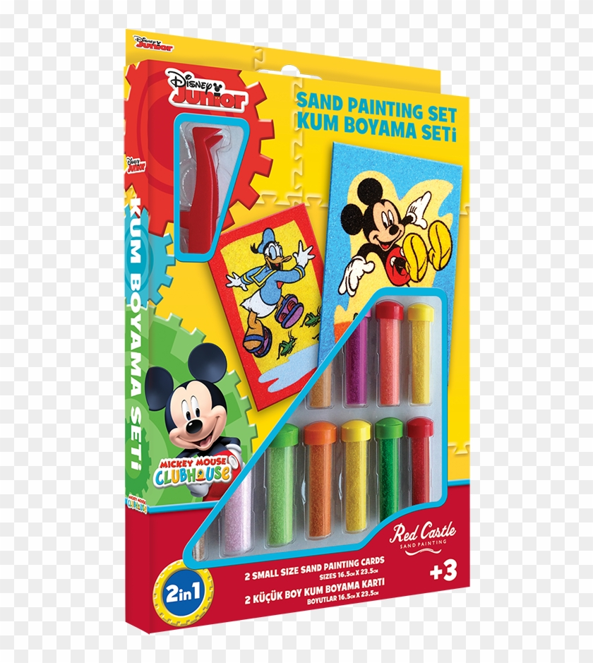 Mickey Mouse Disney Sand Art Kits Free Transparent Png Clipart