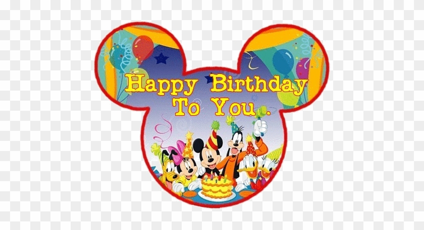 Mickey Mouse Birthday Shirts For Family Hy World