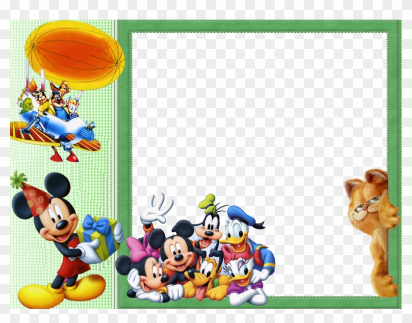 Mickey Mouse Clipart Frame - Disney Disney - Characters Art Print ...