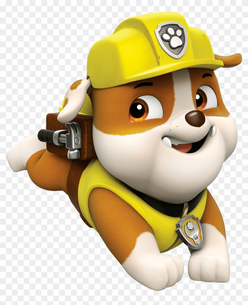 Rubble 2 Paw Patrol Clipart Png Rubble From Paw Patrol Free
