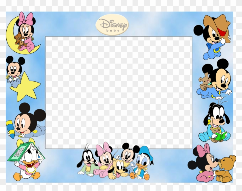 Mickey Mouse Frame Wallpapers High Quality Free Frame Disney Baby
