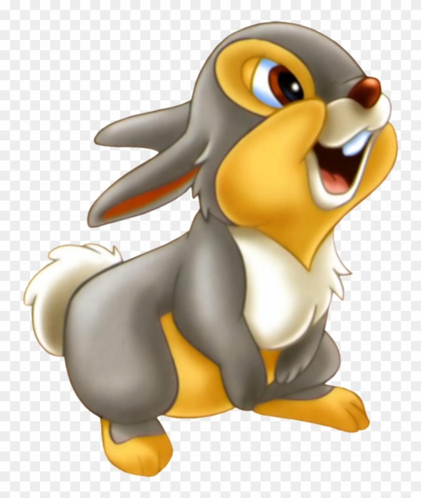 Cartoon - Bambi - Thumper From Bambi - Free Transparent PNG