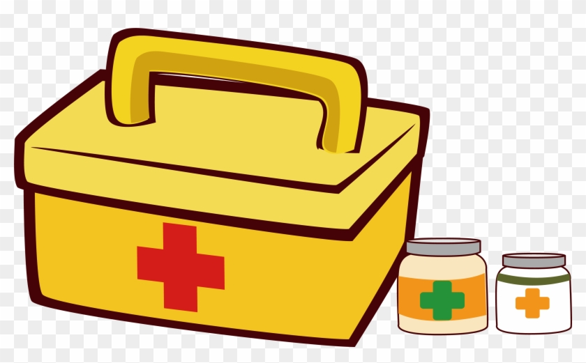 First Aid Kit Clip Art - Primeros Auxilios Png Vector - Free